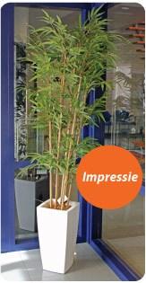 Impressie Kunstplant Bamboe