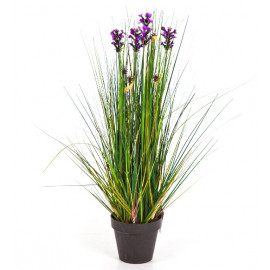 Kunstplant Lavendel Gras 60 cm