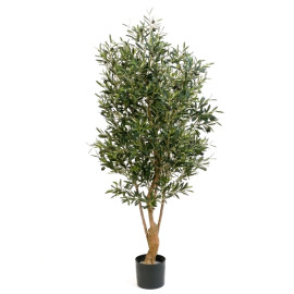 Kunstplant Olijfboom Twisted 120 cm
