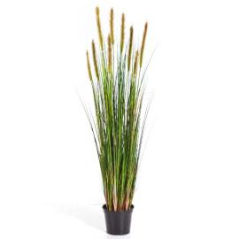 Kunstplant Vossenstaart Gras Groen 120 cm
