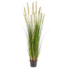 Kunstplant Vossenstaart Gras Groen 150 cm