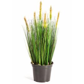 Kunstplant Vossenstaart Gras Groen 60 cm