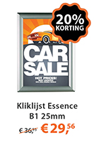 Kliklijst Essence B1 25mm