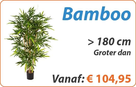 Bamboo kunstplanten groter dan 180 cm