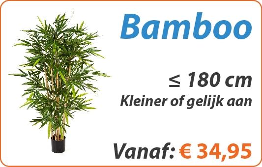 Bamboo kunstplanten kleiner of gelijk aan 180 cm