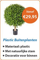 Plastic Buitenplanten